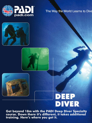 PADI Deep Diving Brisbane